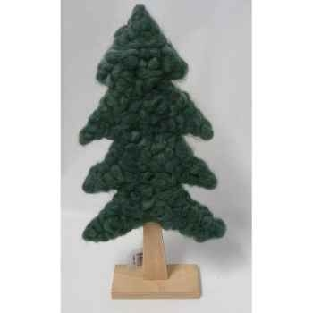Sapin en laine 36,5cm vert Peha -TR-35825