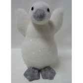 pingouin 30cm blanc peha tr 36245