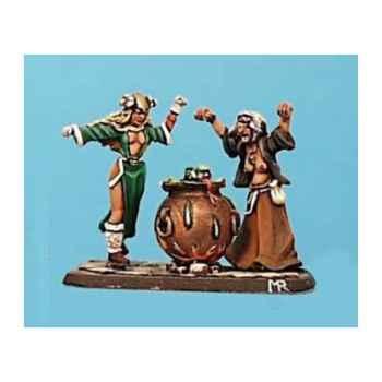 Figurine - Sabbat de sorcières - CA-022