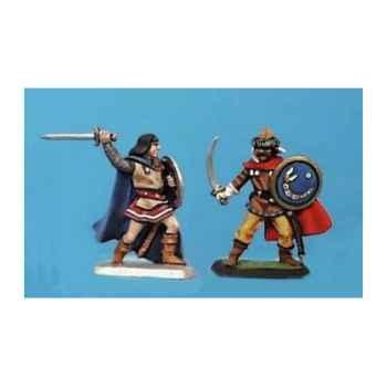 Figurine - Prince et guerrier hun  - CA-021