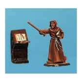 figurine moine et pupitre ca 023