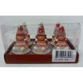 6 bougies chauffe plats fille blanc peha c10135