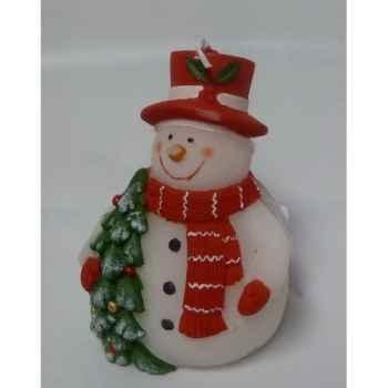 Bougie bonhomme de neige 11cm Peha -CL-10200