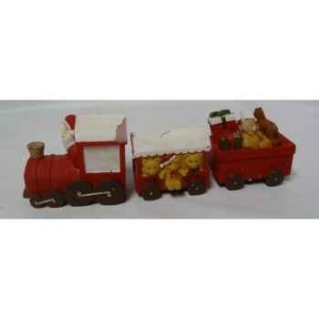 3 bougies train 21cm Peha -CL-10240