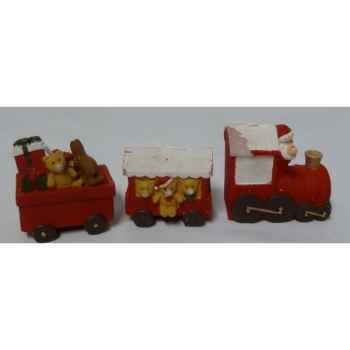 3 bougies train 16,5cm Peha -CL-10245