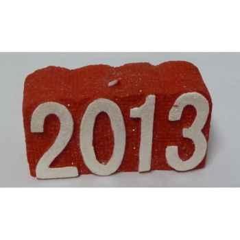 Bougie carrée -2013- 12x5,5cm Peha -CL-10380