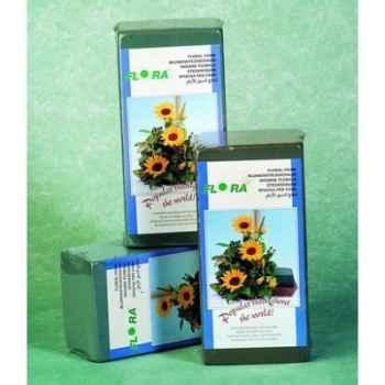 Mousse florale bloc 230x110x75mm scellé Peha -FL-3001