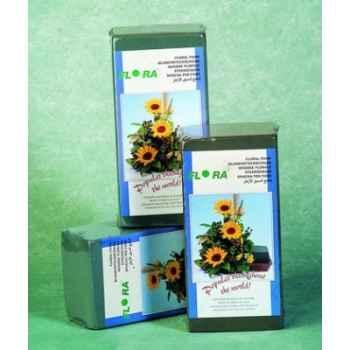 Mousse florale bloc 200x100x70mm scellé Peha -FL-3002