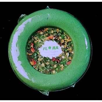 Mousse floral rondelle vert 20cm scellé Peha -FL-3026