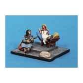figurine demoiselle et troubadour ca 014