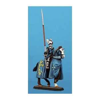 Figurine - Chevalier à cheval - CA-018