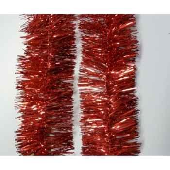 Guirlande 9cmx6m rouge Peha -GL-40460