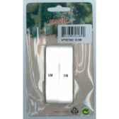 ruban 16mmx3m blanc 2 recueils carte peha ht021502