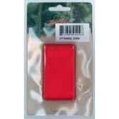ruban 40mmx3m rouge en carte peha ht104002