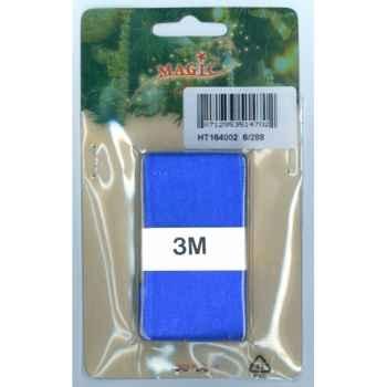 Ruban 40mmx3m bleu en carte Peha -HT164002