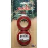 2 rouleaux ruban de fen rouge 19mm x10m peha ii 1589