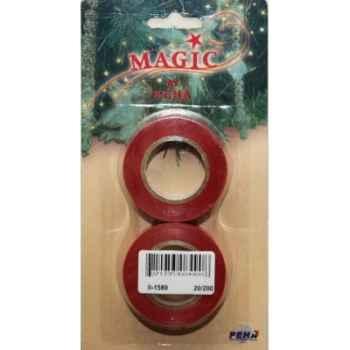 2 rouleaux ruban de fen rouge 19mm x10m Peha -II-1589