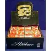 ruban 51cm x 27m rouge or etoile peha lb100502