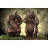 figurine mr and mrs beaver narnia 06