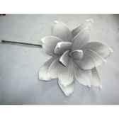 pique 50cm fleur gris peha tr 22635