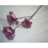 pique 97cm fleurs violet fonce peha tr 22660