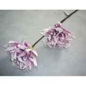 pique 90cm fleurs violet peha tr 22685
