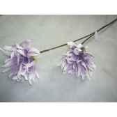 pique 90cm fleurs violet fonce peha tr 22690