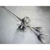 pique 92cm fleurs noir peha tr 22705