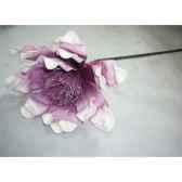 pique 78cm fleurs violet peha tr 22725