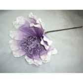 pique 78cm fleurs violet fonce peha tr 22730