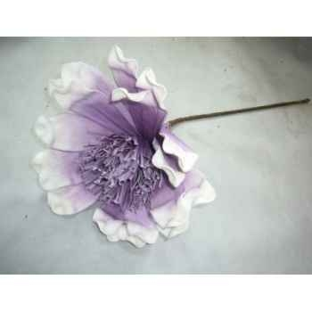 Pique 78cm fleurs violet fonce Peha -TR-22730