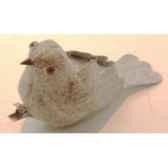 oiseau sur clip 10cm brun peha tr 23570