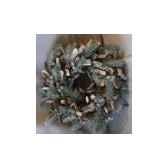 couronne 36cm pomme de pin av neige peha tr 25475
