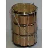 porte bougie 135cm marron or peha tr 29065