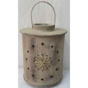 Lanterne bois 33,5cm Peha -TR-29440