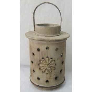 Lanterne bois 22,5cm Peha -TR-29450