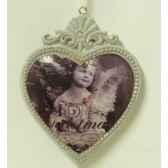 fig a susp coeur avec ange 7x9cm peha tr 35810