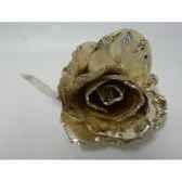 rose avec clip or peha tr 36205