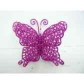 papillon a susp 10cm violet peha tr 36750