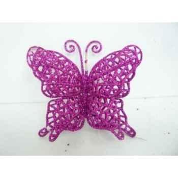 Papillon à susp 10cm violet Peha -TR-36750
