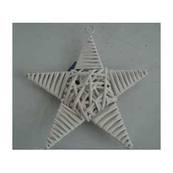 Etoile 26x19cm blanc Peha -TR-21950