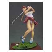 figurine joueuse de golf g 042