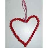 fig a susp coeur 18cm rouge peha tr 26995