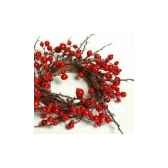 couronne 45cm ac fruit rouge peha tr 27035