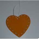 fig a susp coeur 85cm orange blanc peha tr 27710