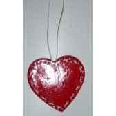 fig a susp coeur 7cm rouge blanc peha tr 27735