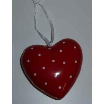 Fig a susp coeur 7cm rouge Peha -TR-27900