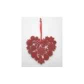 fig a susp coeur 135cm rouge peha tr 29260