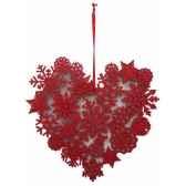 fig a susp coeur 18cm rouge peha tr 29275