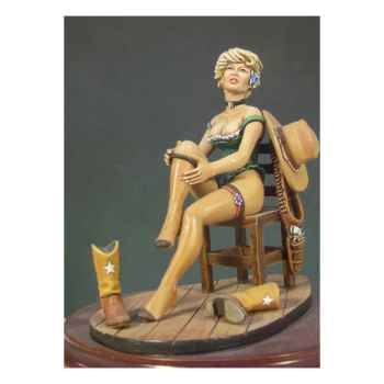 Figurine - Belle du Far West - G-012